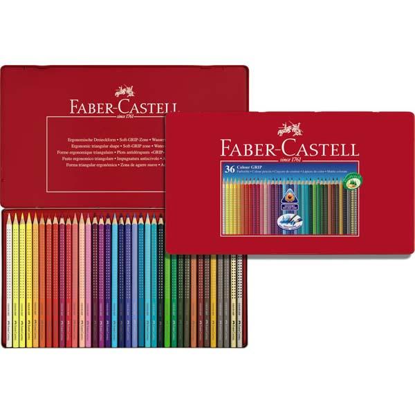 faber castell color grip buntstifte 36er kasten. Black Bedroom Furniture Sets. Home Design Ideas