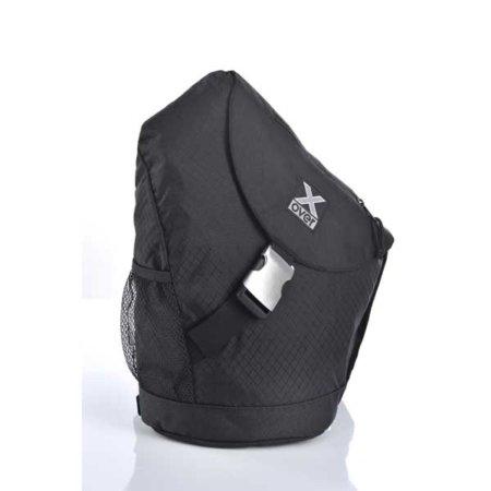 schwarzer rucksack von x over