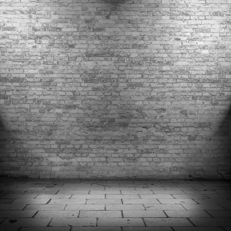 Backsteinwand beleuchtet
