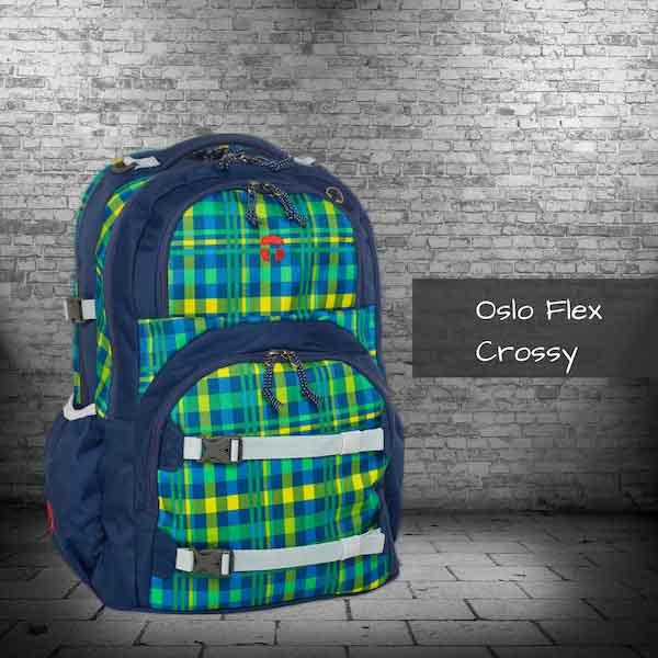 cc608033eba7e grauer Schulrucksack mit Muster Schulrucksack Tarnfarbe schwarz gruener  Hintergrund Oslo Flex tuerkies Oslo Flex kleine karos gelb blau stehend Take  it easy ...
