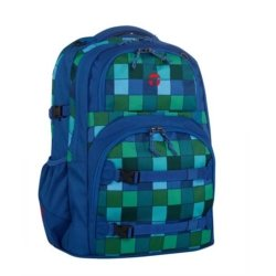 Blauer Schulrucksack von Take it easy