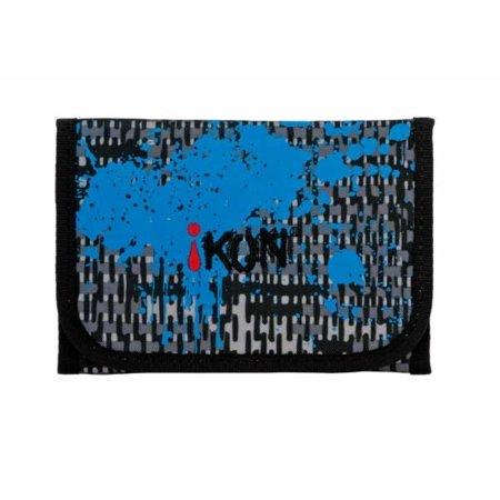 iKON Gelboerse in schwarz mit blauen Akzenten