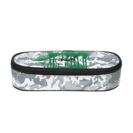 iKON Stifte Etui in grün und grau