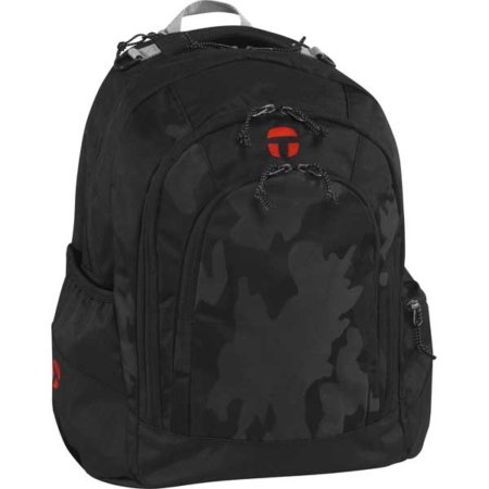 Rucksack für die Schule mit Schwarzem Muster