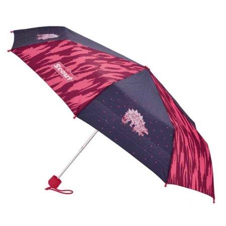 Regenschirm mit Dinos in pink