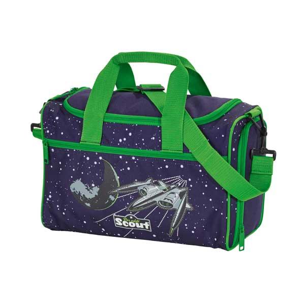 Sporttasche im Weltraum-design