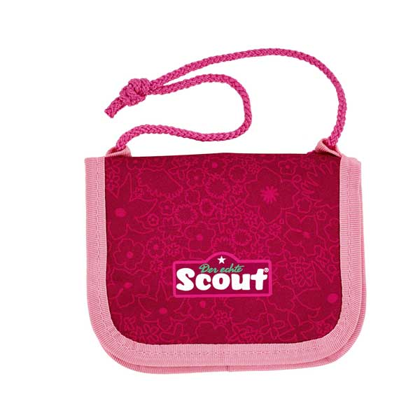 Brustbeutel rot scout