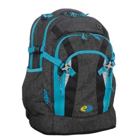 YZEA Rucksack in schwarz und blau