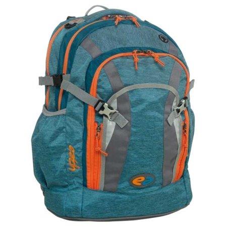 Rucksack YZEA blau, orange und blau