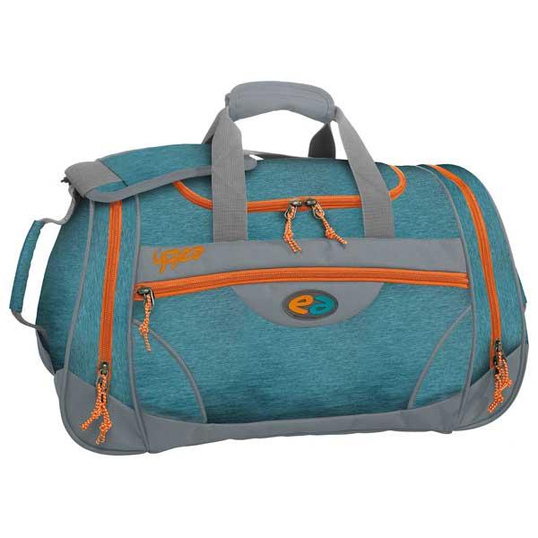 Sporttasche wave in blau und orange