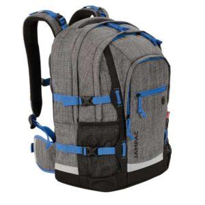 Rucksack in grau und blau