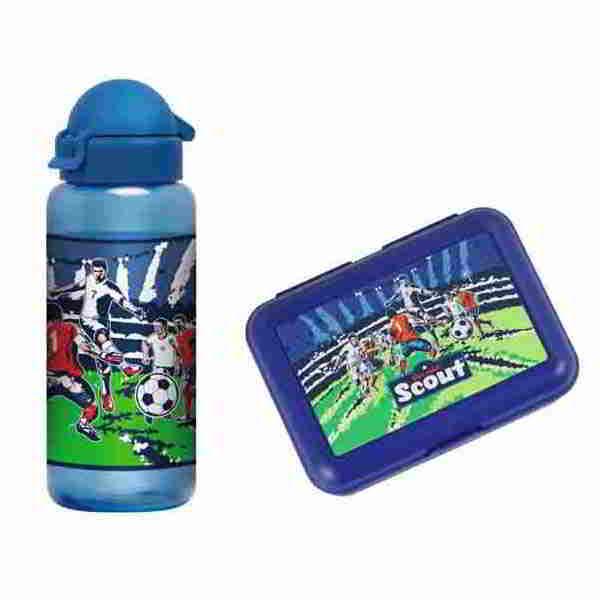 flasche essbox fussball