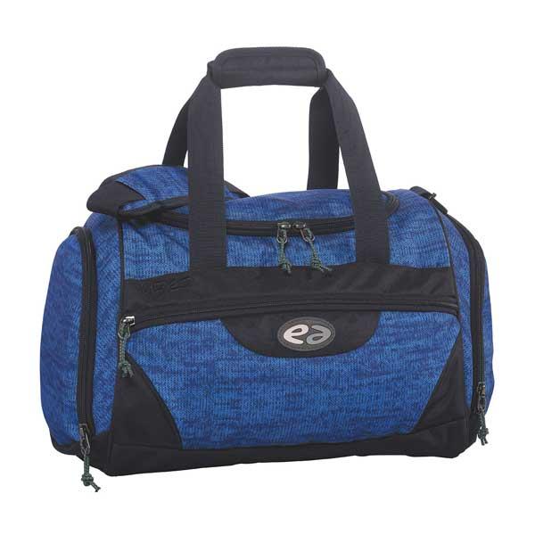 Sporttasche-Knit-blau