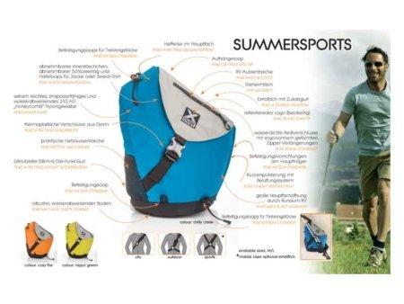 summersports funktionen aufstellung
