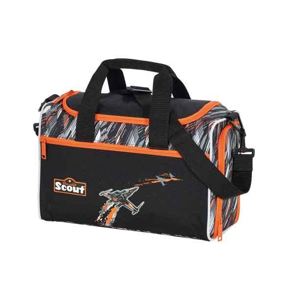 sporttasche schwarz und orange
