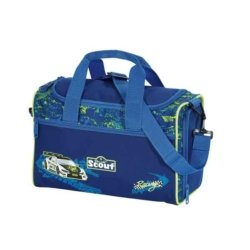 sporttasche in blau