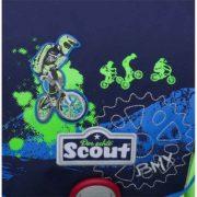 BMX Rad blau