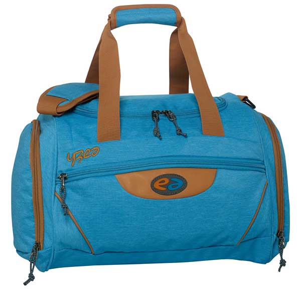 Sporttasche in hellblau